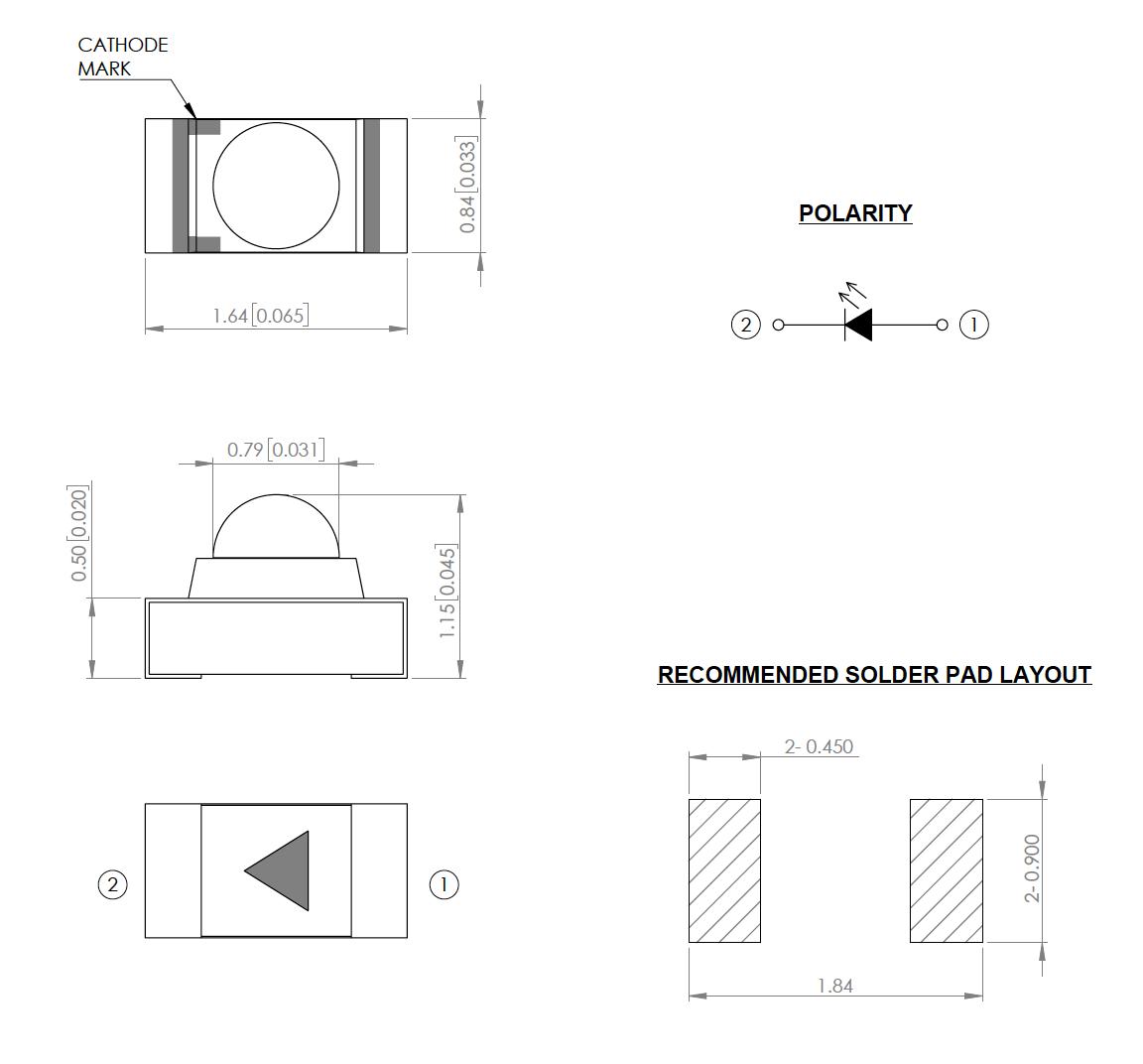 Narrow Beam SMT/SMD LED - Lumex