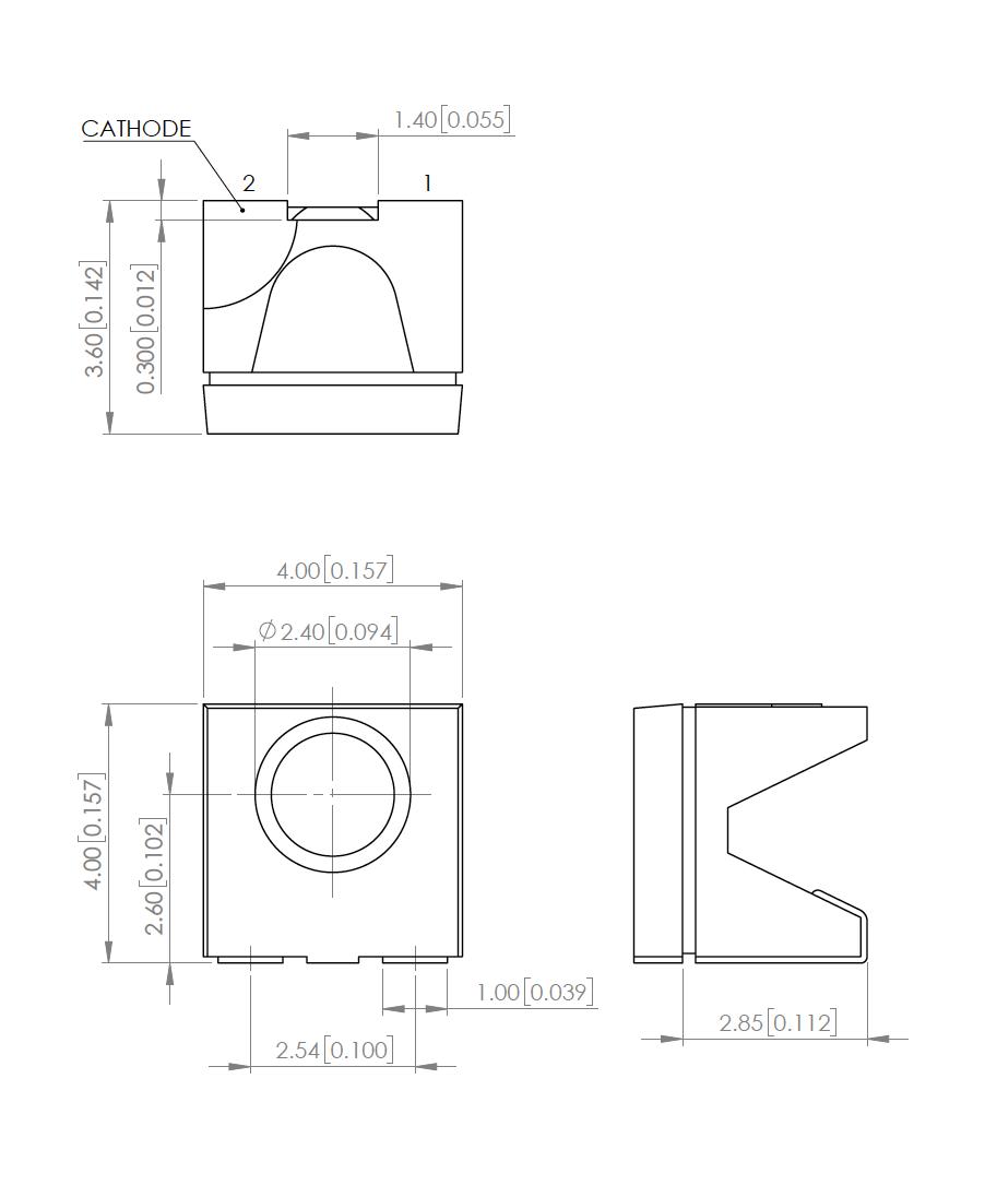 SMT/SMD LEDs (Surface Mount LEDs)